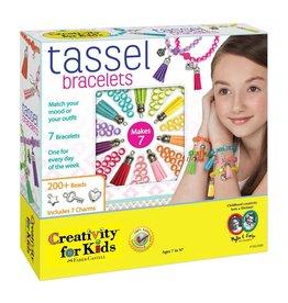 Creativity for Kids Tassle Bracelets