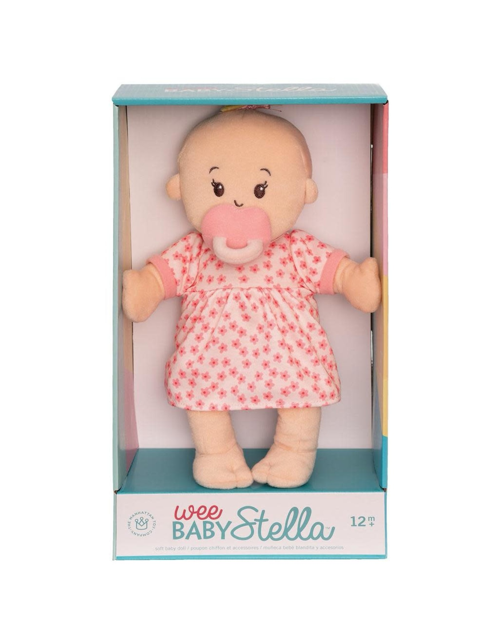 Manhattan Toy Wee Baby Stella Doll Peach