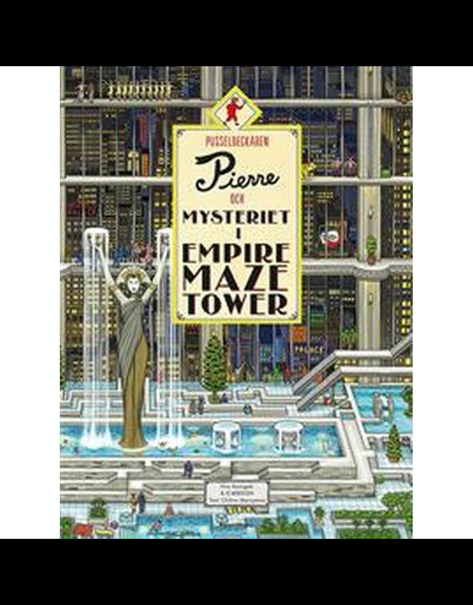 Raincoast Books Pierre The Maze Detective The Mystery Of The Empire Maze