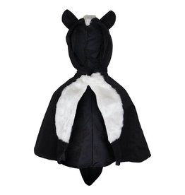 Great Pretenders Baby Skunk Cape  Size 1-2