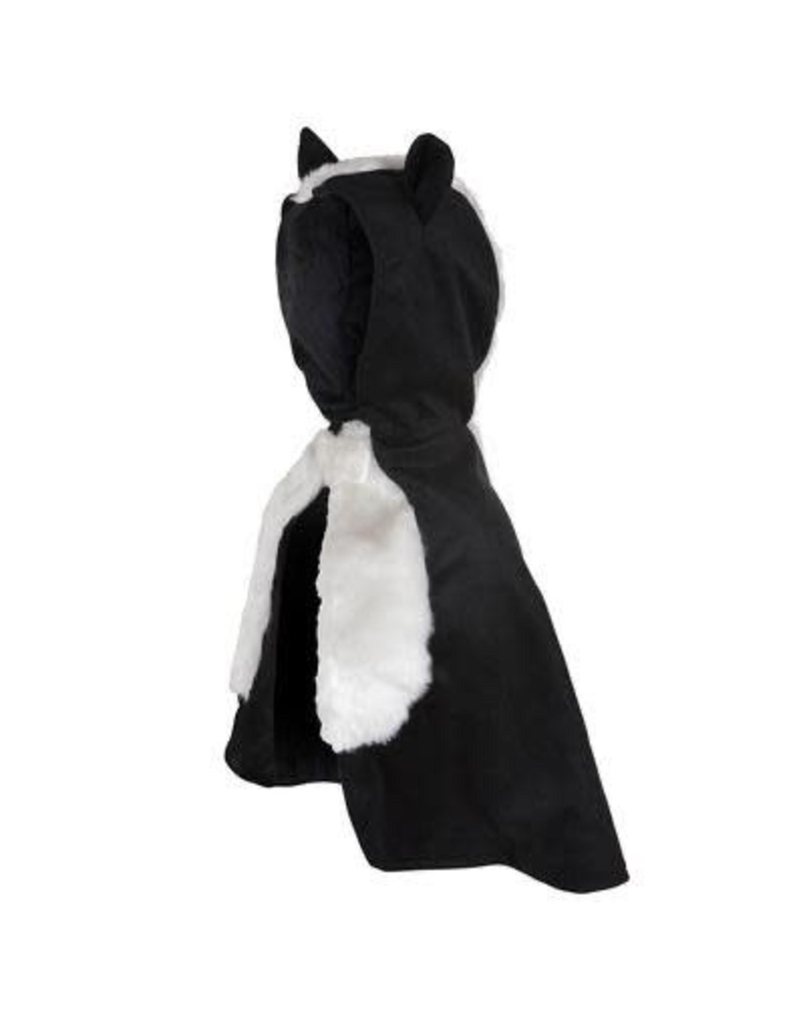 Great Pretenders Baby Skunk Cape  Size 1-2