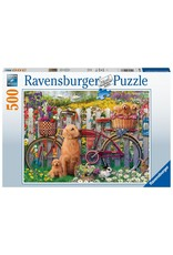 Ravensburger Cute Dogs  (500 Pc)