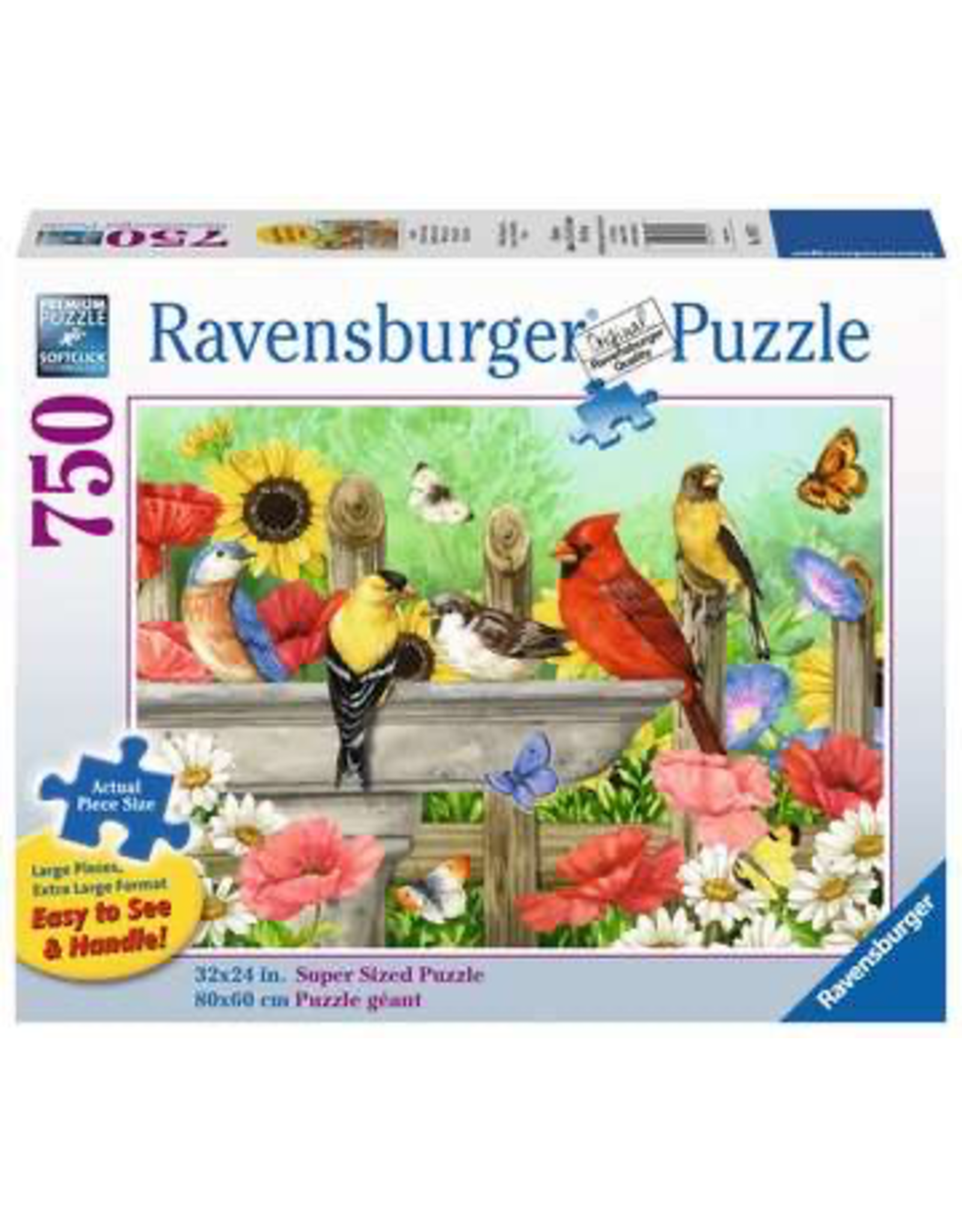 Ravensburger Bathing Birds (750 Pc Large Format)