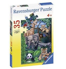 Ravensburger Animal Kingdom  (35 Pc)