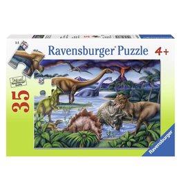 Ravensburger Dinosaur Playground  (35 Pc)