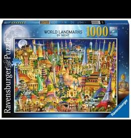 Ravensburger World Landmarks At Night (1000 Pc)