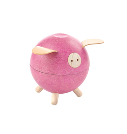Plan Toys Plan Toy - Piggy Bank - Pink