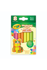 Crayola Modelling Clay, 8 Neon Colours