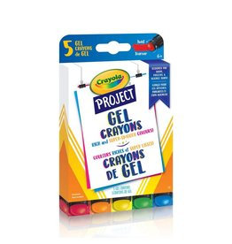 Crayola Crayola Project Gel Crayons, 5 Count