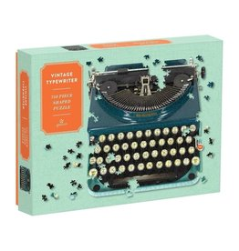 Galison Vintage Typewriter 750 Piece Shaped Puzzle