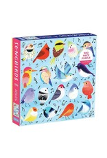 Mudpuppy Songbirds 500 Piece Family Puzzle