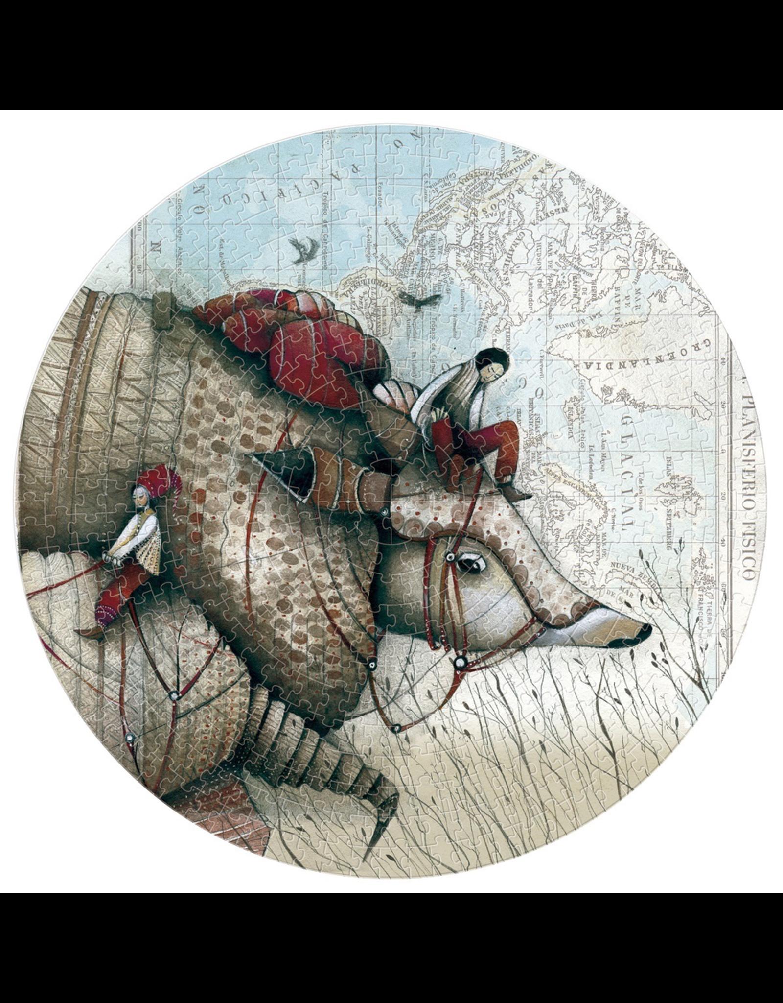 Londji Mon Voyage Avec Tatou Puzzle 500 Pieces