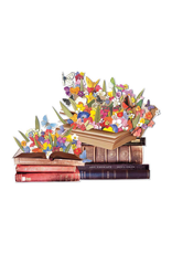 Galison Blooming Books 750 Piece Shaped Puzzle