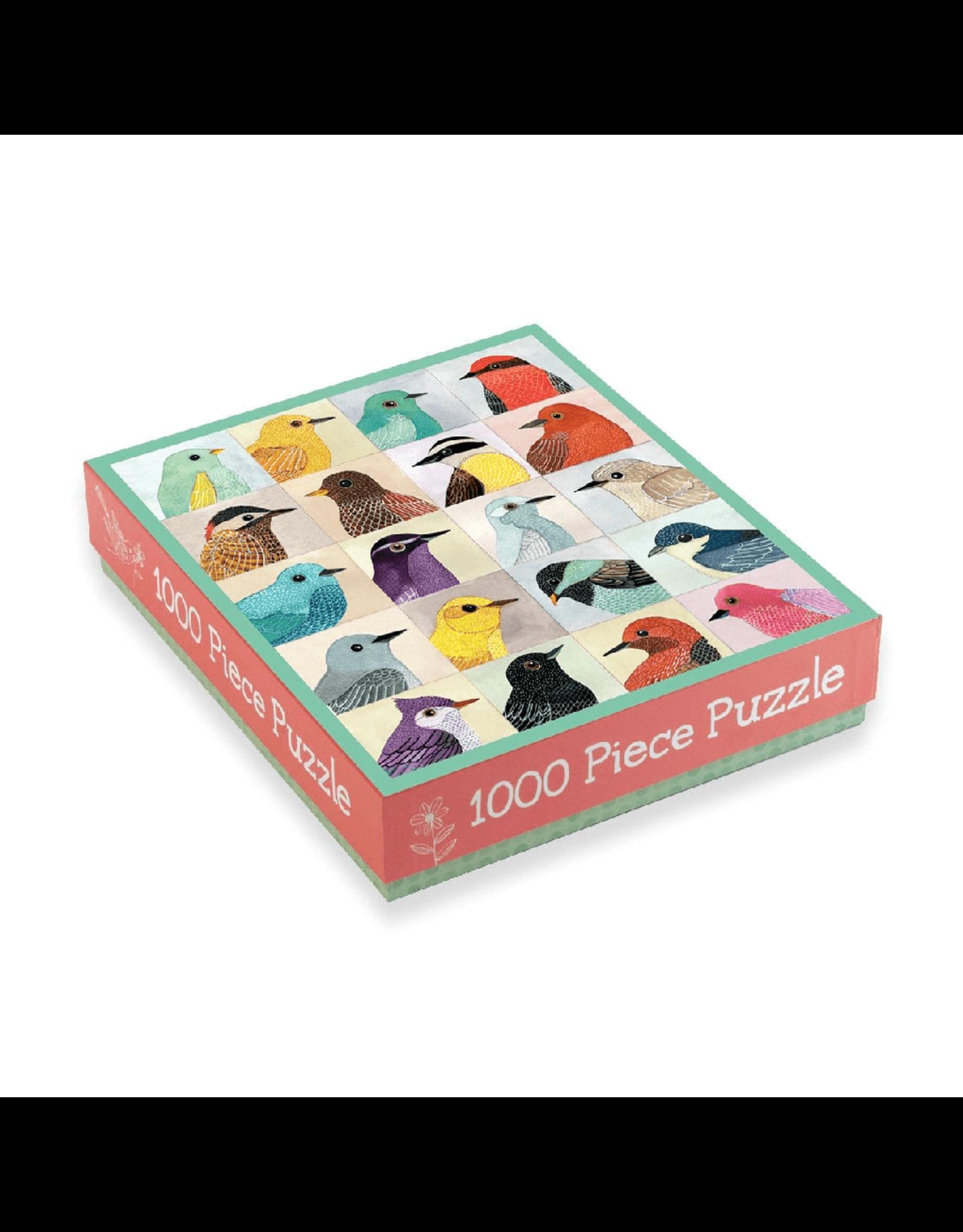Galison Avian Friends 1000 Piece Puzzle