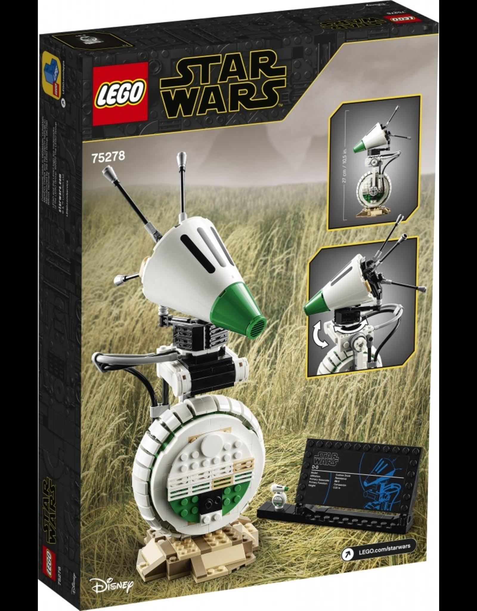 LEGO Star Wars - 75278 D-O