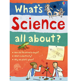 Usborne What's Science All About?  Bind-Up