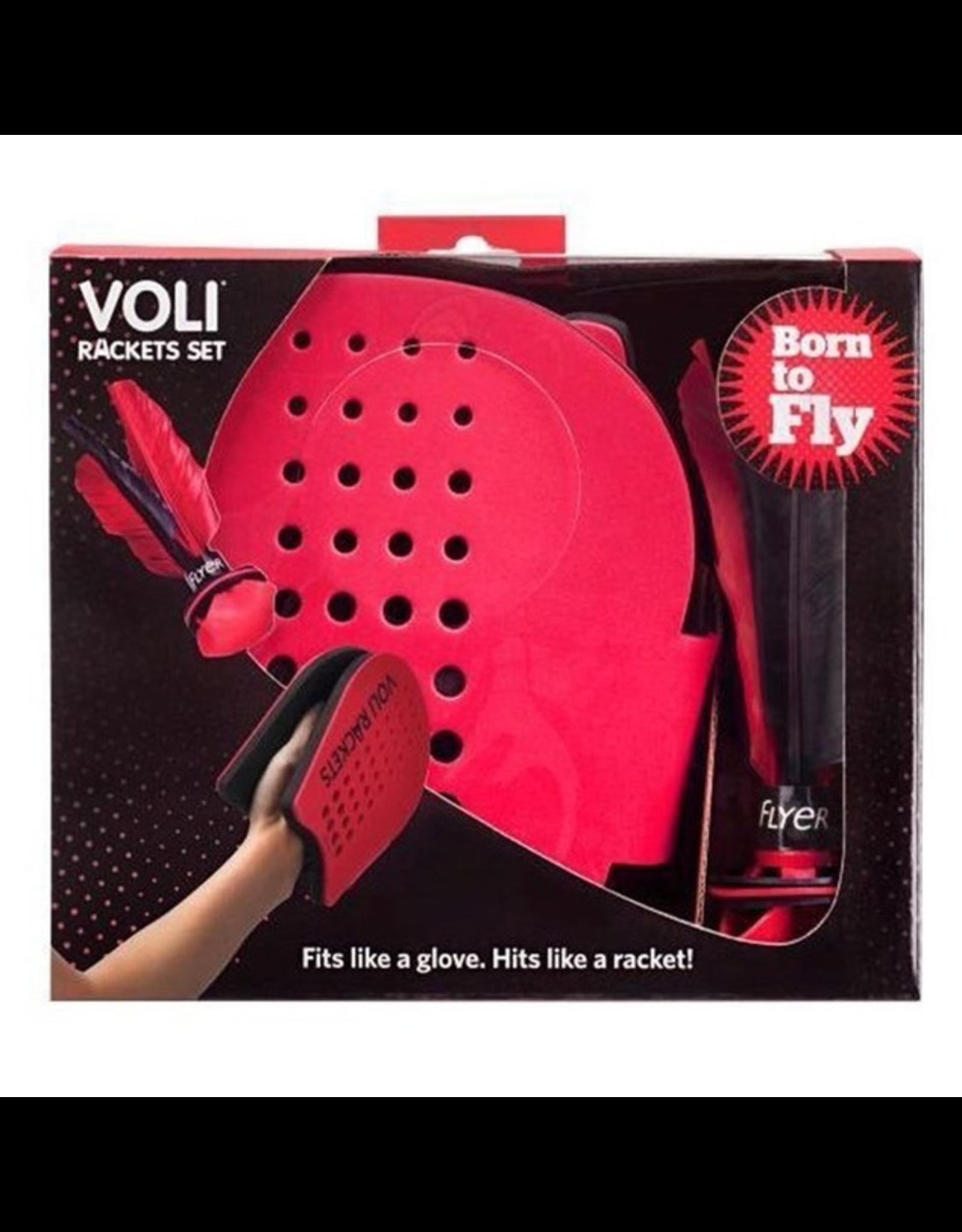 Waboba Voli Racket Set With Flyer