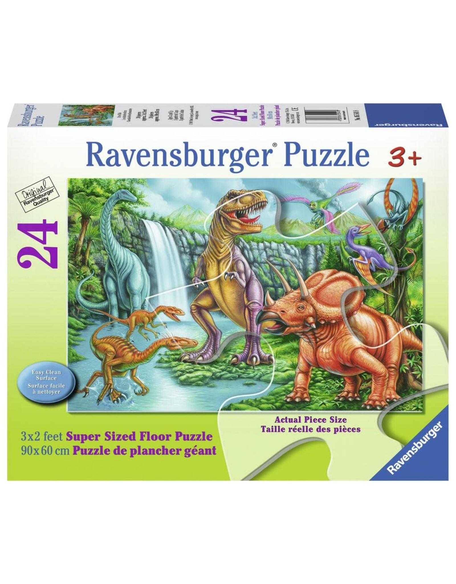 Ravensburger Dino Falls - 24pc Floor Puzzle
