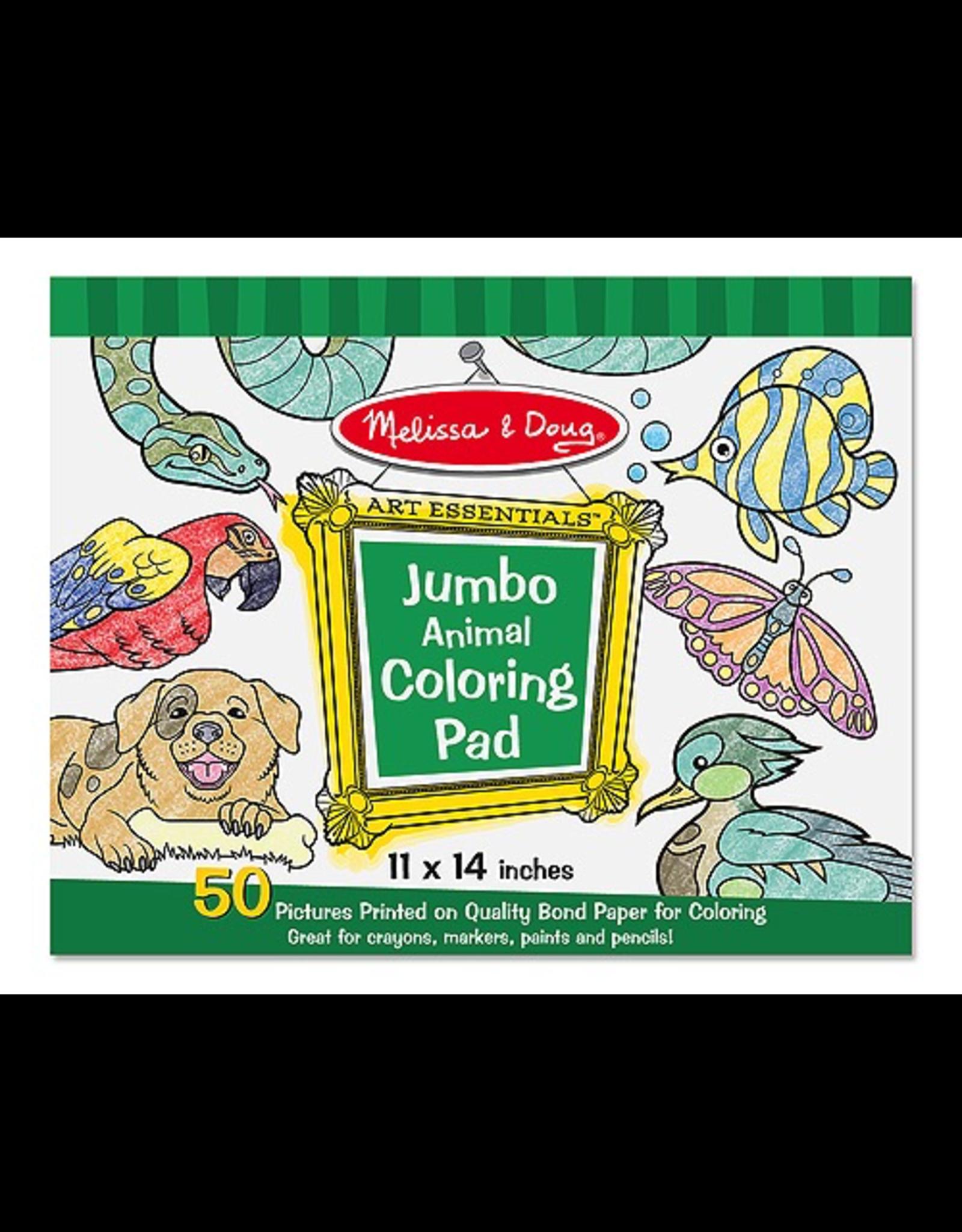 Melissa & Doug Jumbo Colouring Pad  Animal