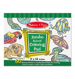 Melissa & Doug Jumbo Colouring Pad  Animal