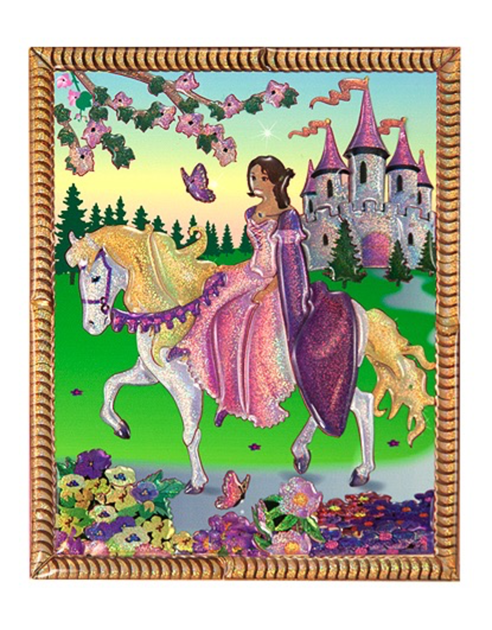 Melissa & Doug Mini Princess Castle Peel  Press