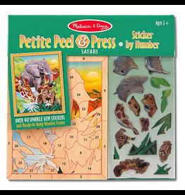 Melissa & Doug Mini Safari Peel  Press Stick