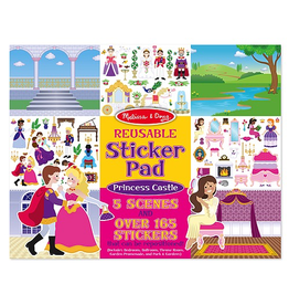 Melissa & Doug Princess Castle Reuseable Sticker Pad