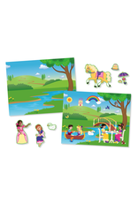 Melissa & Doug Princess Castle Reuseable Sticker Pad