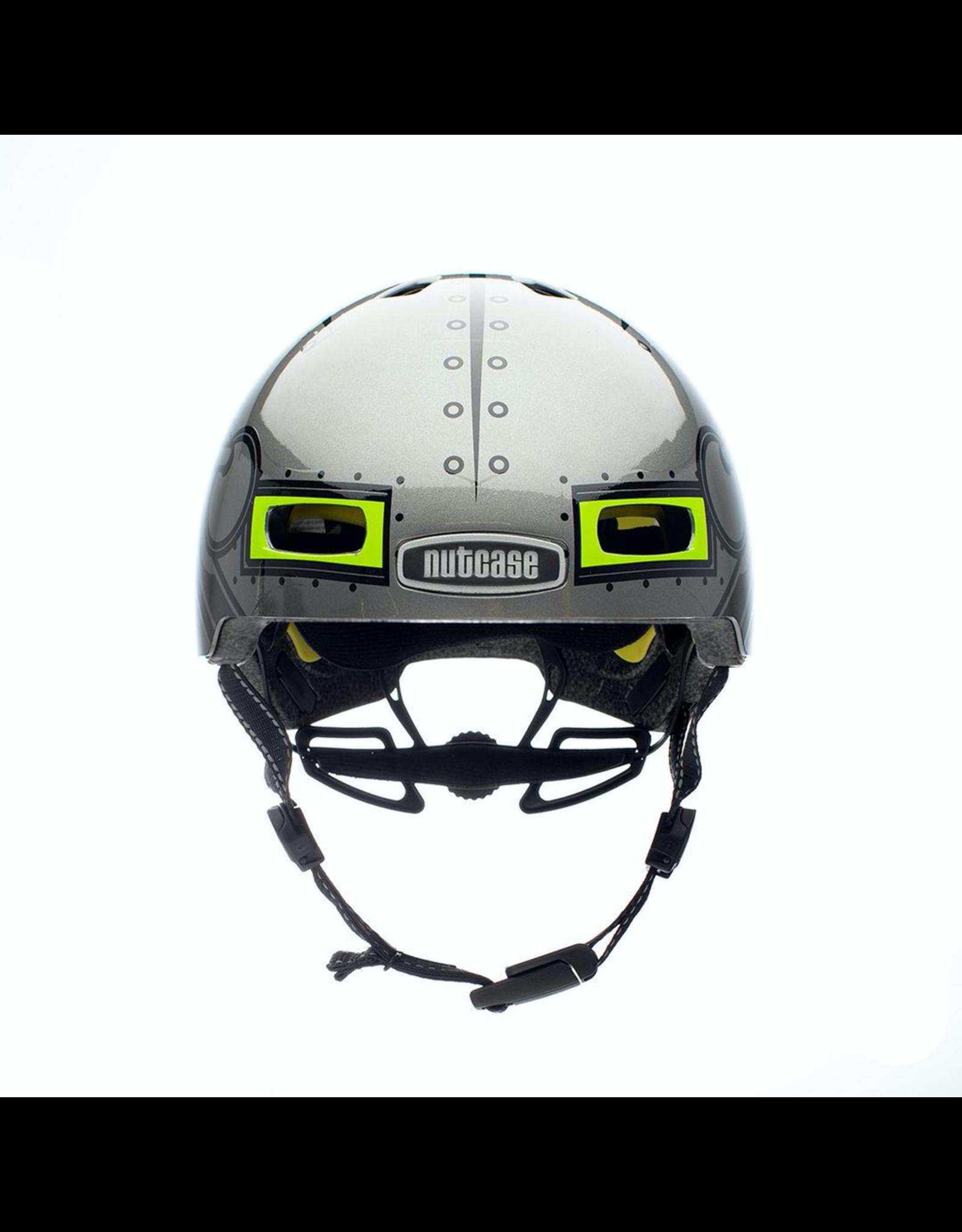 Nutcase Little Nutty Robo Boy Gloss Mips Helmet - Y