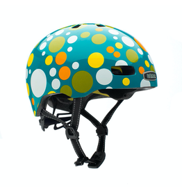 Nutcase Street Polka Face Gloss Mips Helmet S