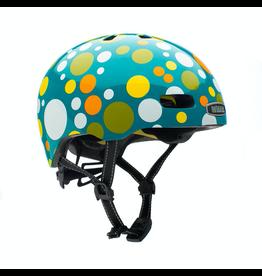 Nutcase Street Polka Face Gloss Mips Helmet M