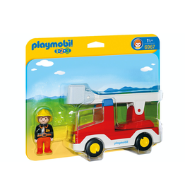 Playmobil 1.2.3 Ladder Unit Fire Truck 6967