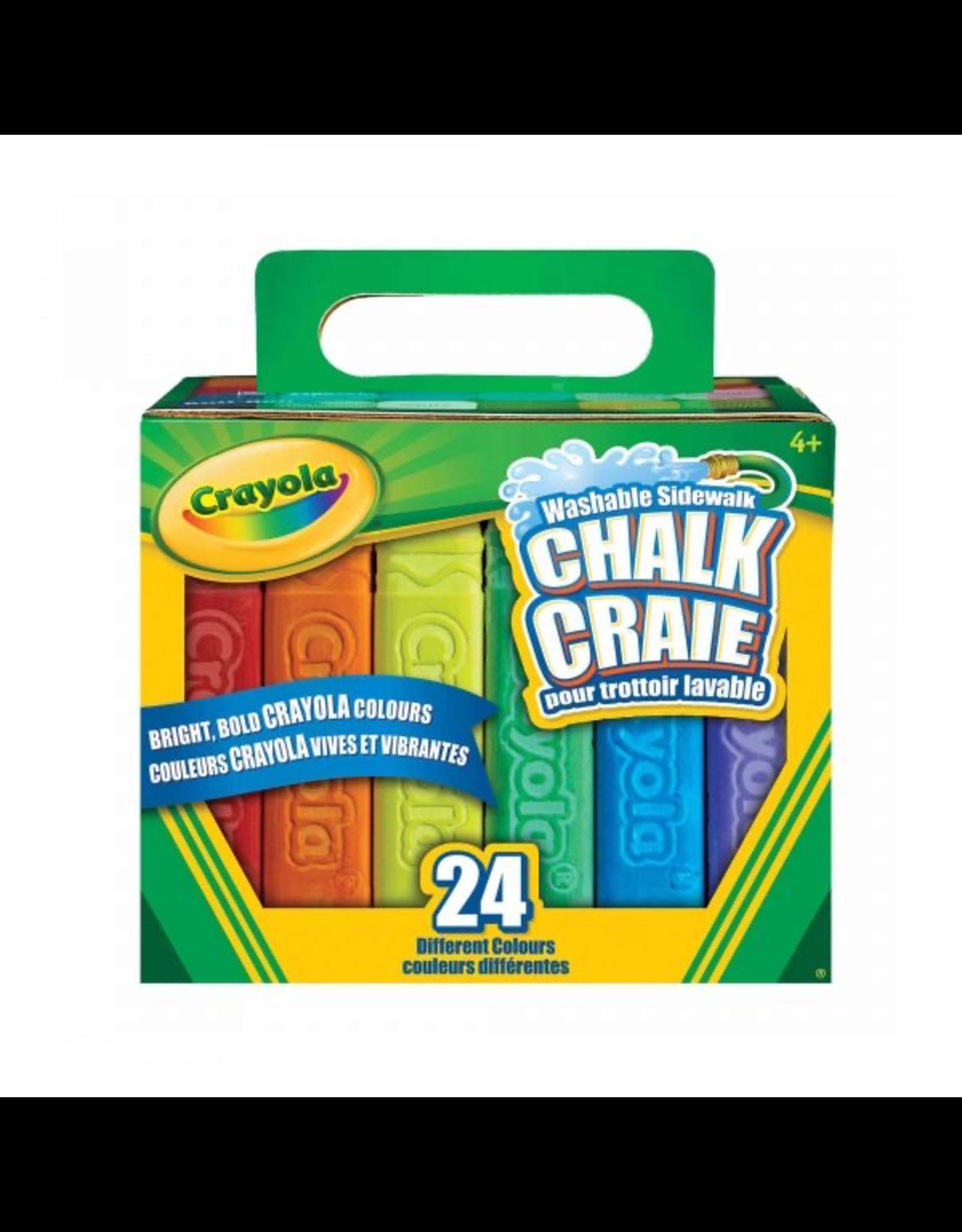 Crayola 24ct Sidewalk Chalk