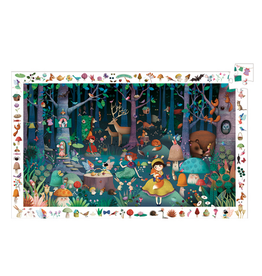 Djeco Enchanted Forest Observation Puzzle 100 Pc