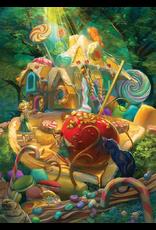Cobble Hill Puzzles Candy Cottage Family Puzzle 350 Pieces