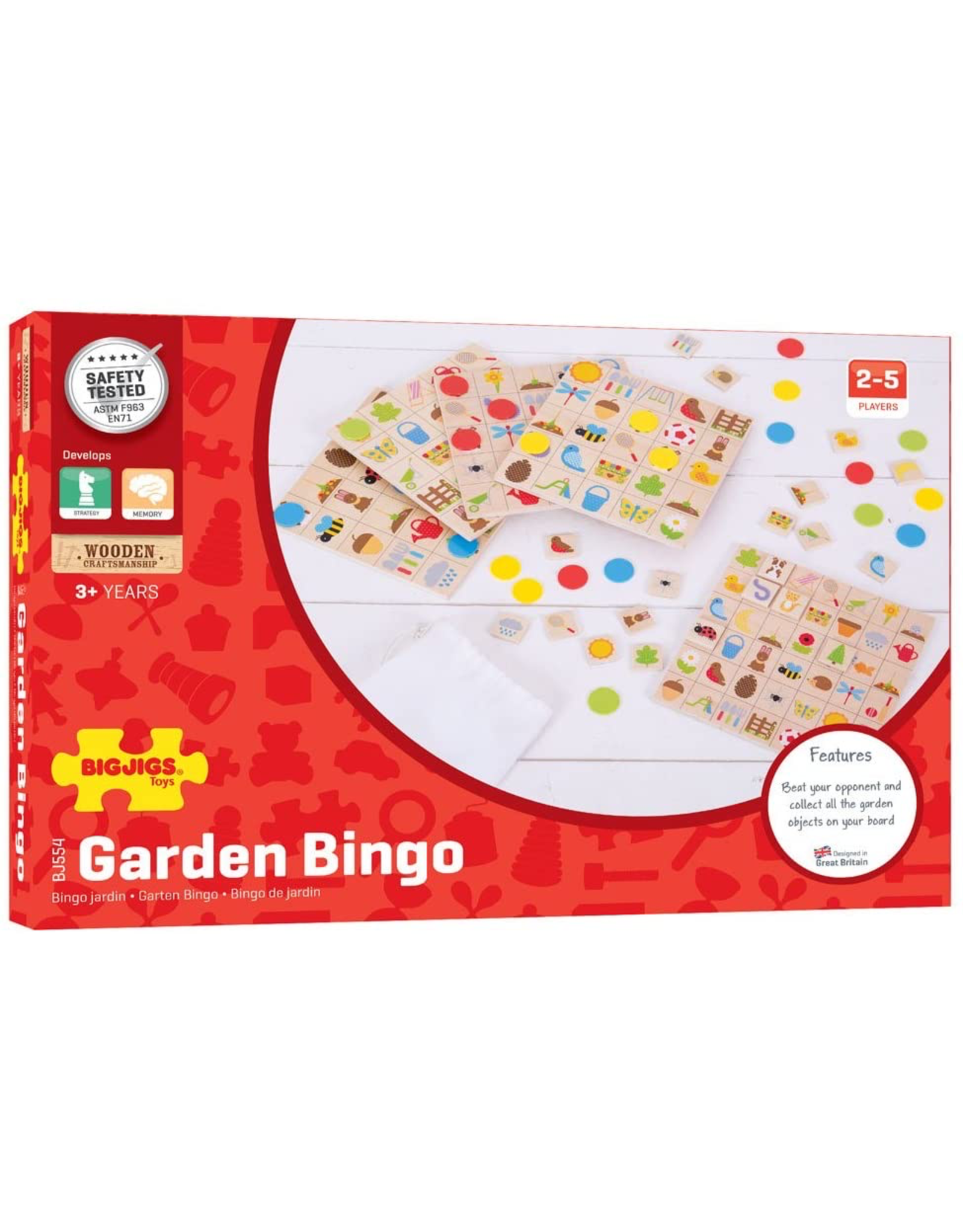 BigJigs Garden Bingo