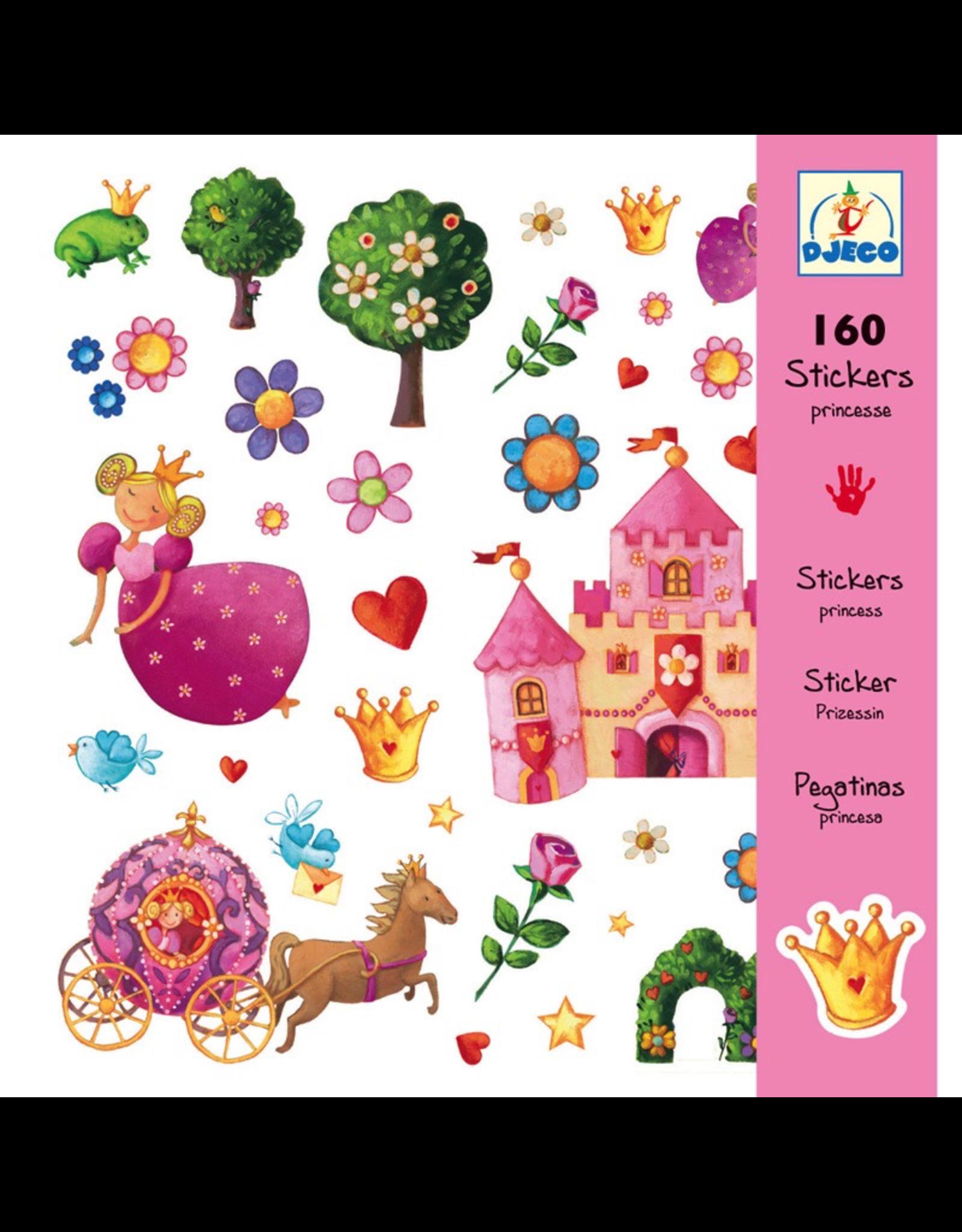 Djeco Princess Marguerite Stickers