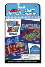 Melissa & Doug On The Go Foil Art Vehicles