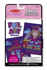 Melissa & Doug On The Go Foil Art Princess