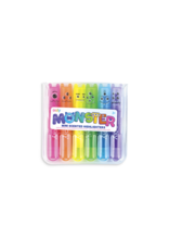 Ooly Mini Monster Scented Markers - Set Of 6