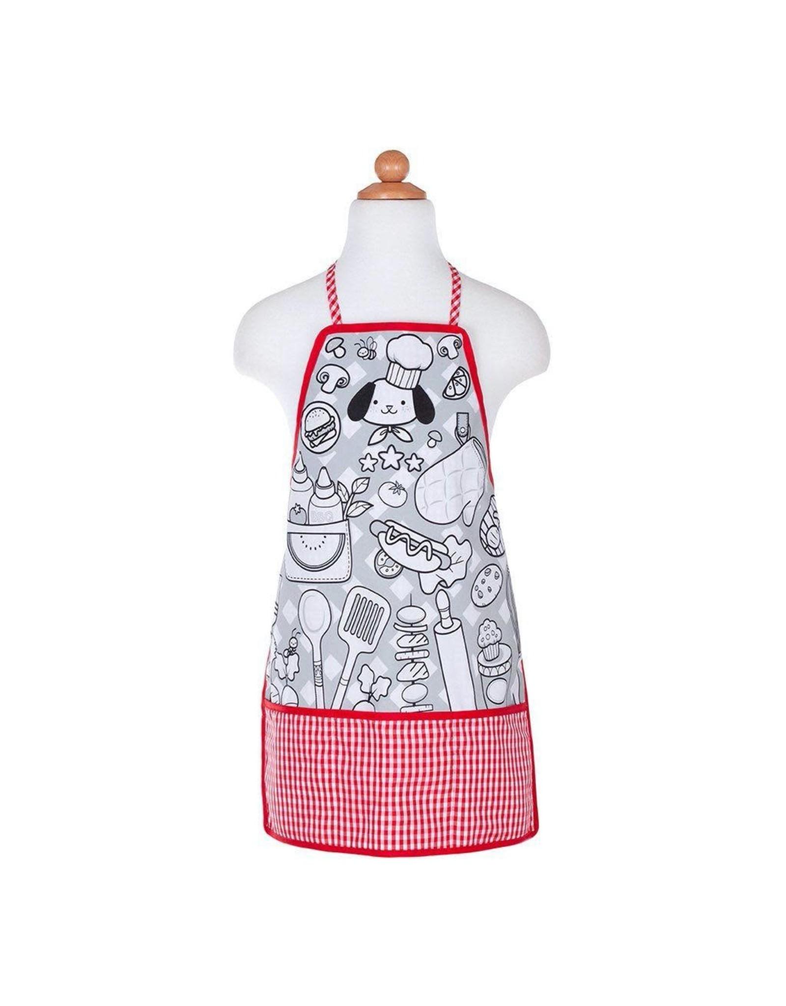 Great Pretenders Colour-An-Apron Chef, Size 4-6