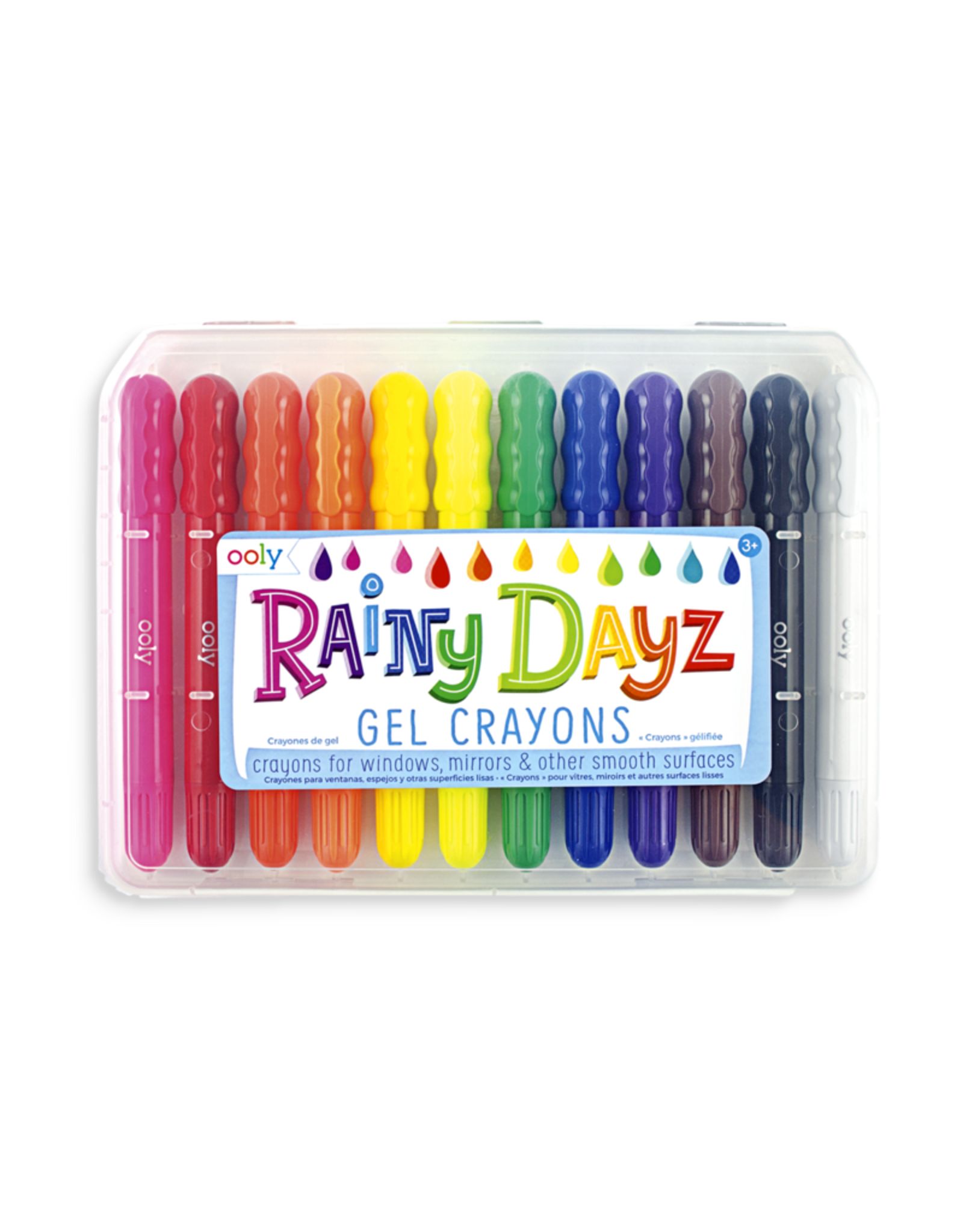 Ooly Rainy Dayz Gel Crayons - Set Of 12