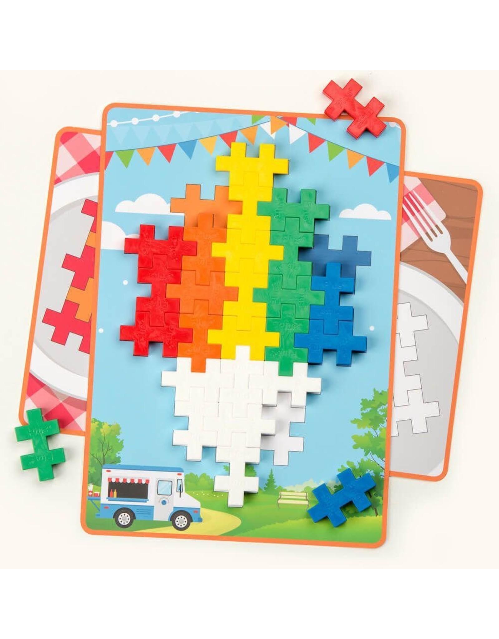 Plus-Plus Big Picture Puzzles 60 Pcs