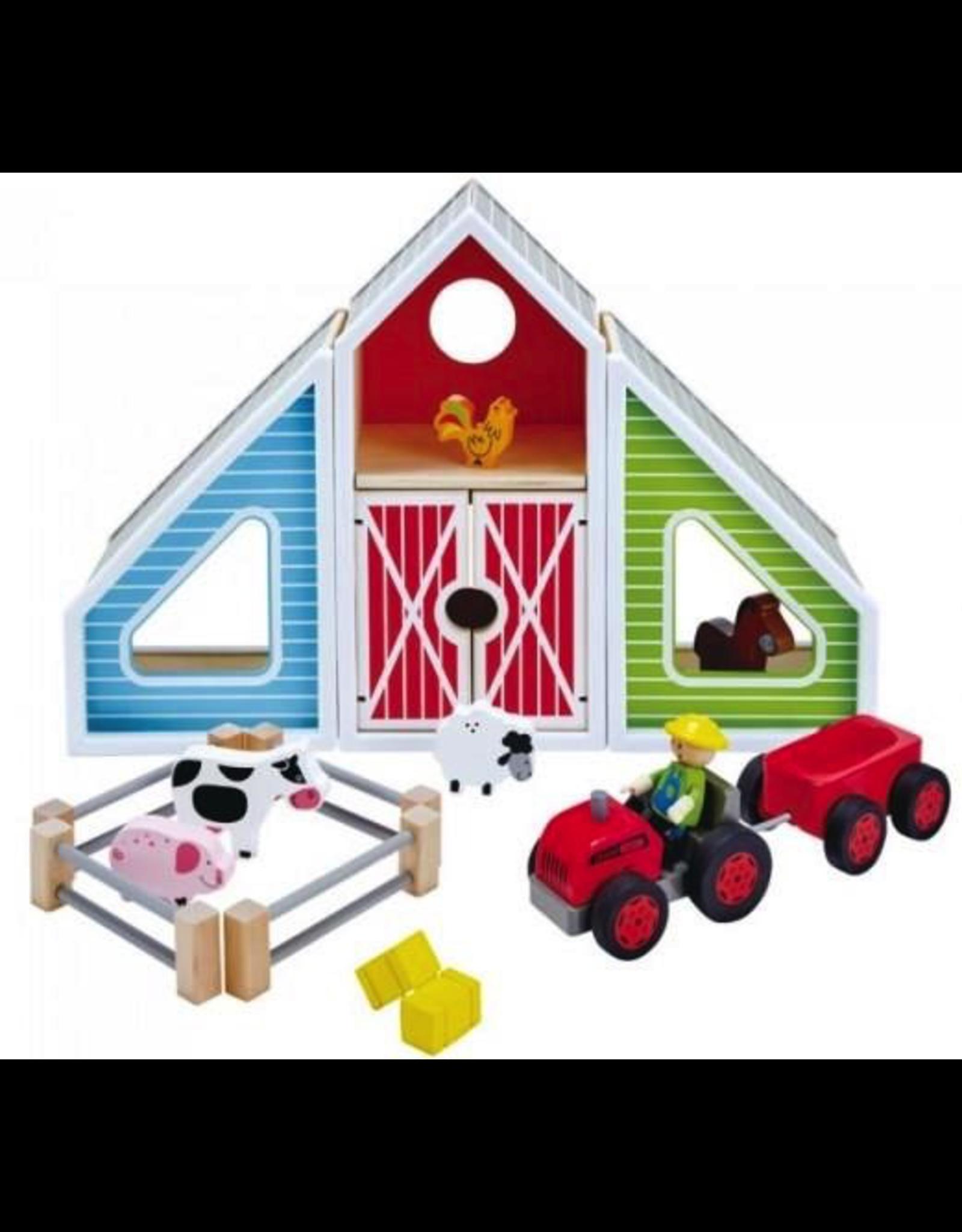 Hape Barn Play