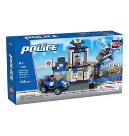 Bric Tek Brictek  Police Rescue Team 10 In 1