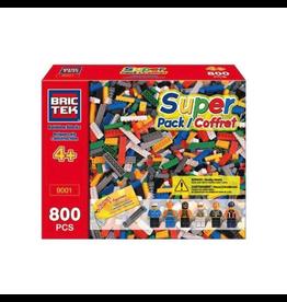 Bric Tek Brictek Super Pack 800 Pcs