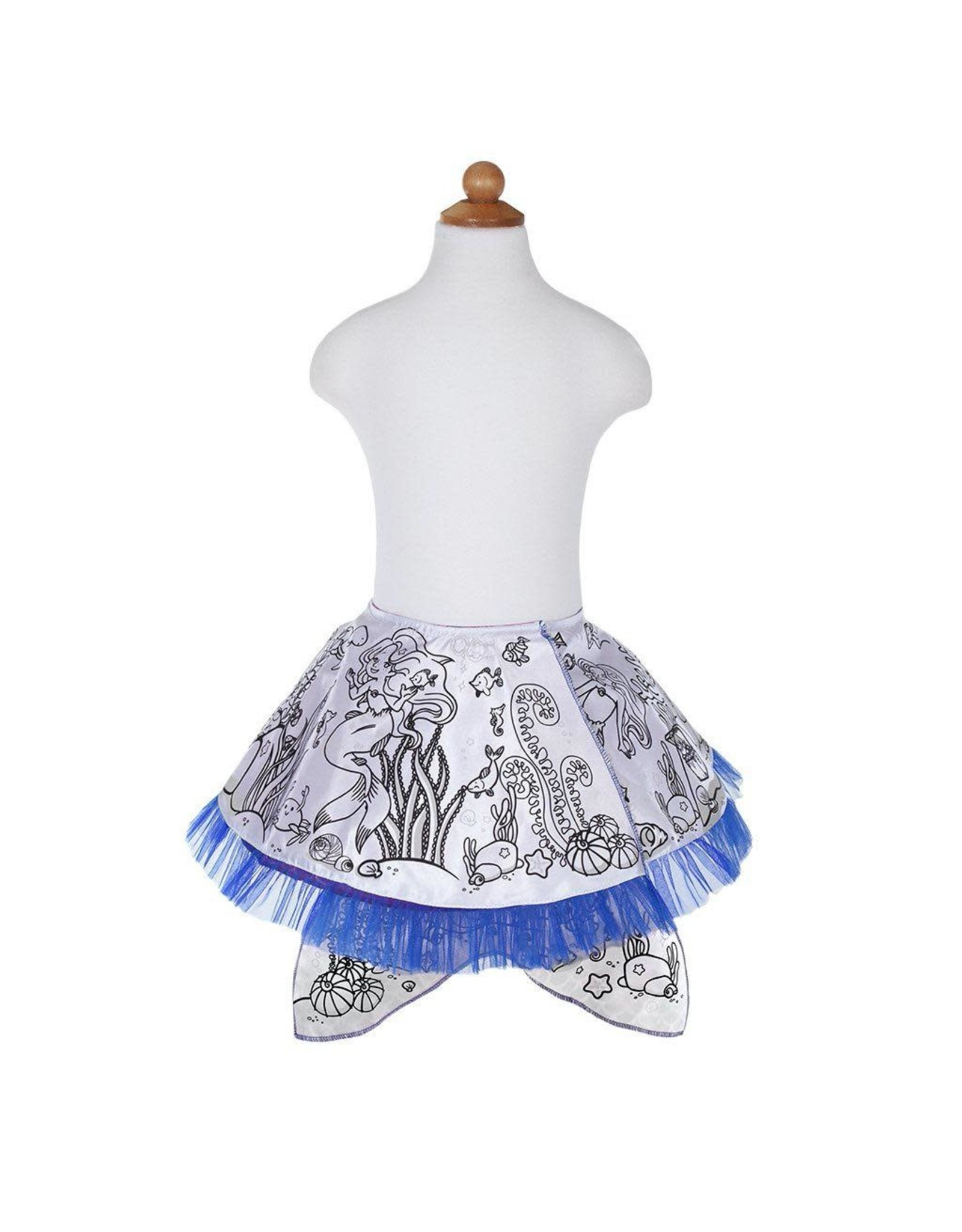 Great Pretenders Colour-A-Skirt Mermaid