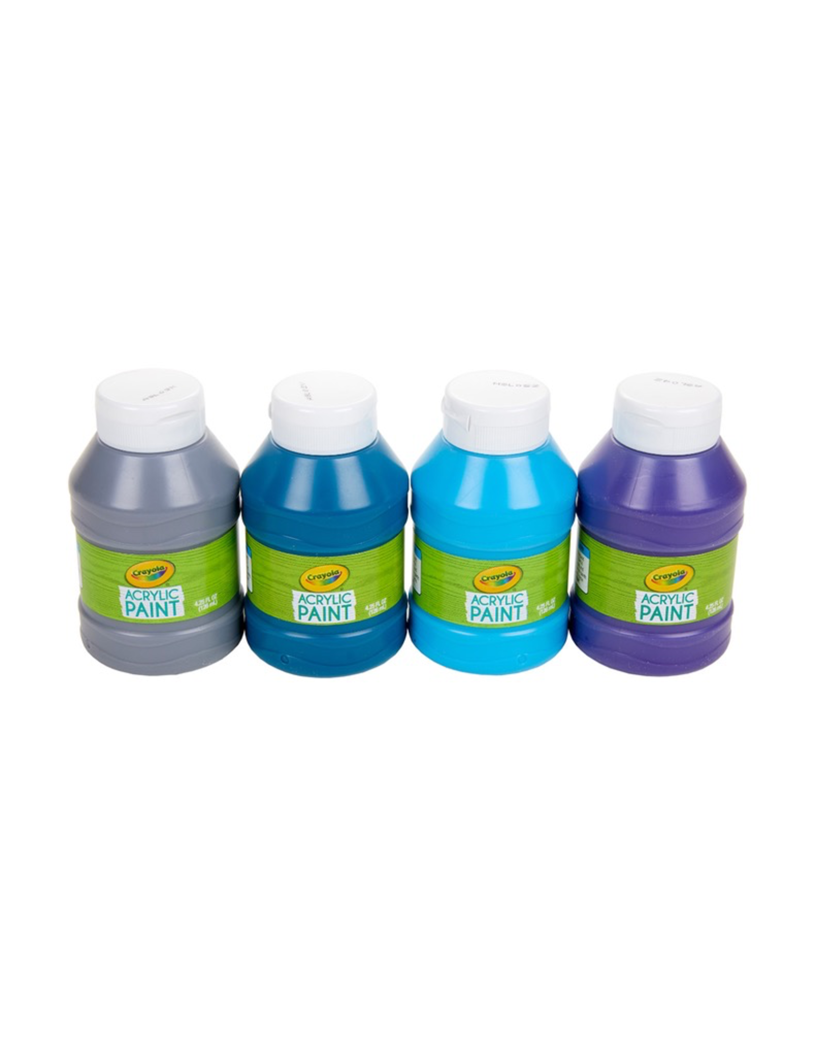 Crayola Ocean Colours Acrylic Paint Jars 4ct 126ml