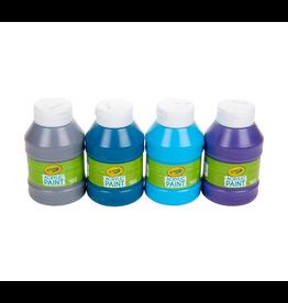 Crayola Ocean Colours Acrylic Paint Jars 4ct 126ml