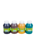Crayola Earth Colours Acrylic Paint Jars 4ct 126ml
